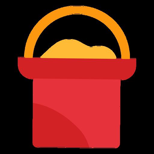 Icono de cubo de arena Transparent PNG