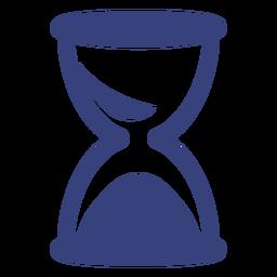 Icono de trazo de reloj de arena