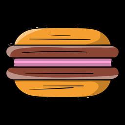 Dibujos animados de galletas sandwich