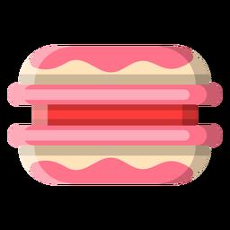 Icono de galleta sándwich