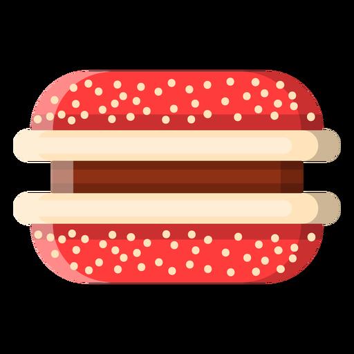 Sandwich cookie icon Transparent PNG