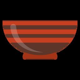 Servindo tigela ícone