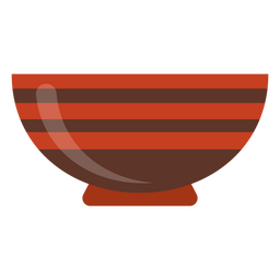 Serving bowl icon