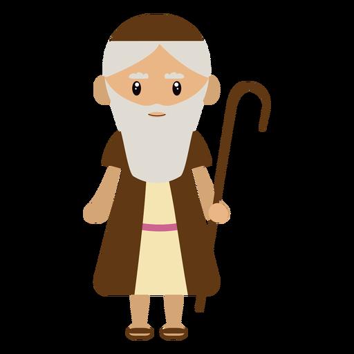 Ilustración de personaje Sheperd Transparent PNG