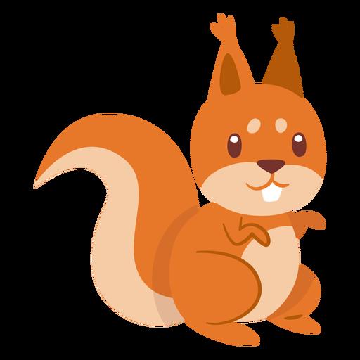 Eichhörnchen Tier Cartoon Transparent PNG