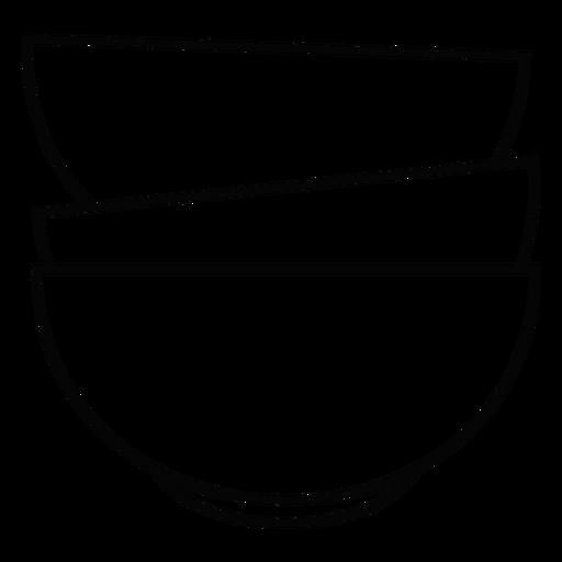 Pilha de taças Transparent PNG