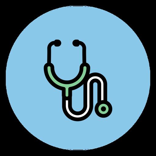 Medizinische Ikonen der Stethoskopikone Transparent PNG