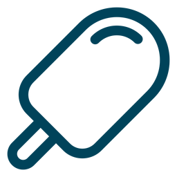 Stick-Eis-Strich-Symbol