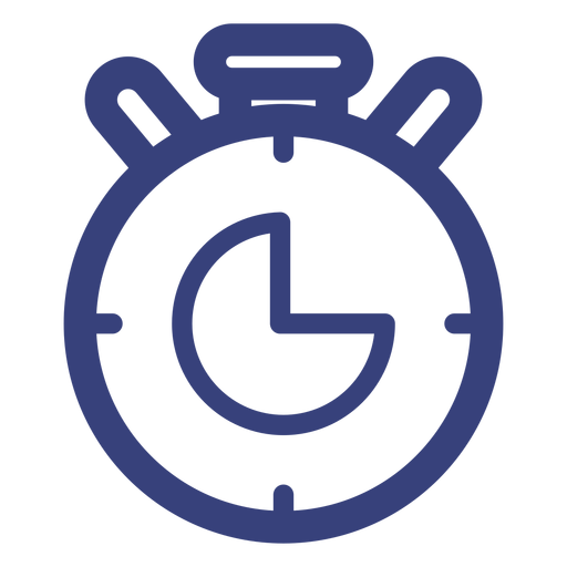 Stopwatch stroke icon Transparent PNG