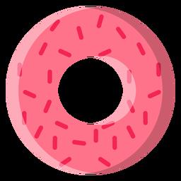 Icono de rosquilla de fresa