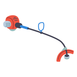 Rasentrimmer-Symbol