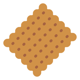 Tea biscuit icon