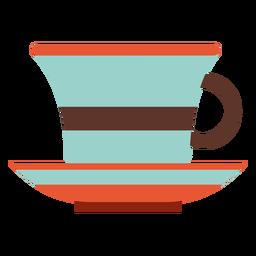 Cozinha de ícone de xícara de chá