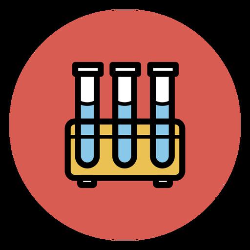 Icono de tubos de ensayo iconos médicos Transparent PNG