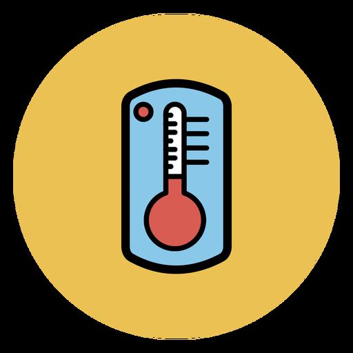 Termómetro colorido icono Transparent PNG