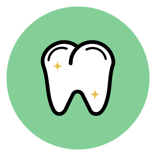 Tooth colorful icon Transparent PNG