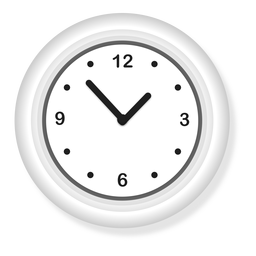 Ilustración de reloj de pared