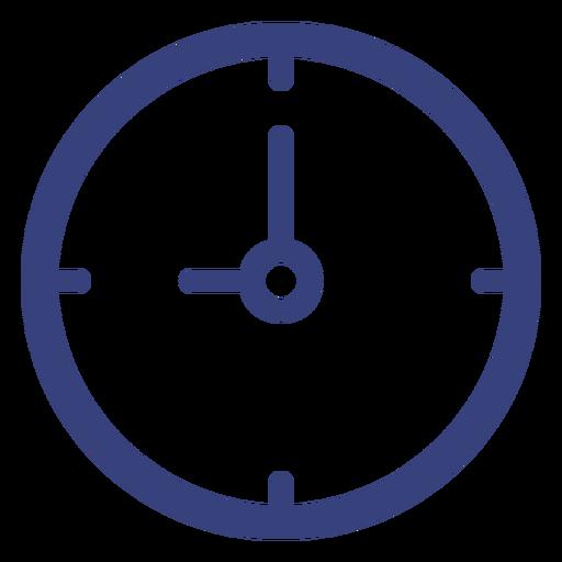 Ícone de traçado de relógio de parede Transparent PNG