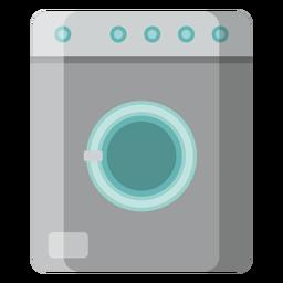 Cocina con icono de lavadora