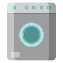 Washing machine icon kitchen