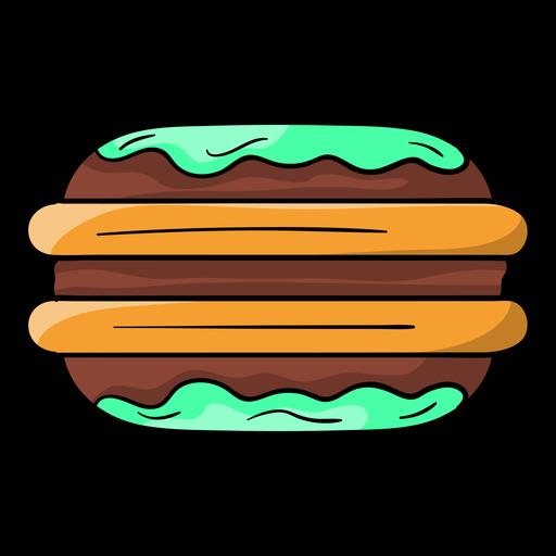 Dibujos animados de pastel Whoopie Transparent PNG