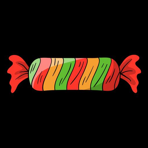 Desenhos animados de doces embrulhados Transparent PNG
