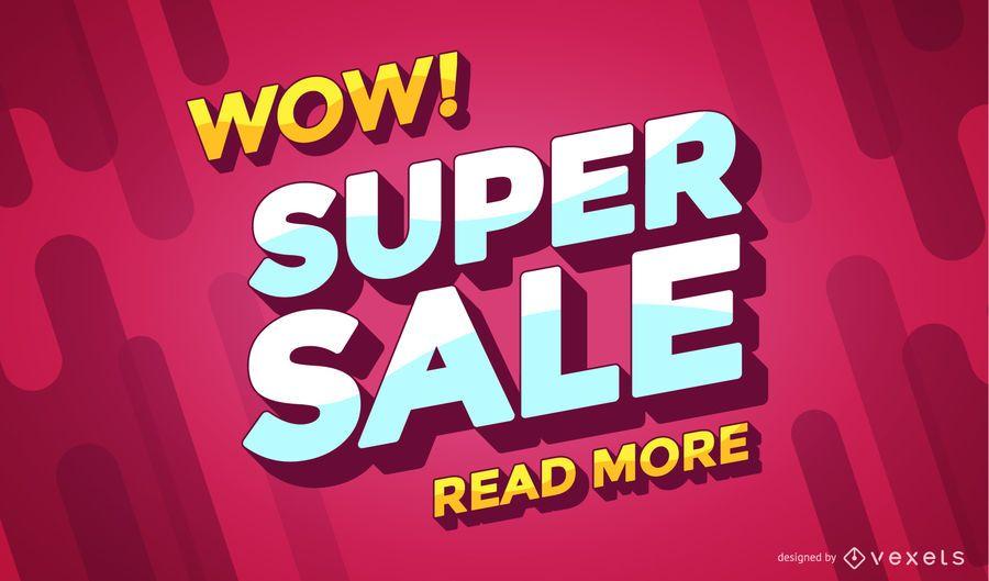 Super Sale Online-Shopping-Banner