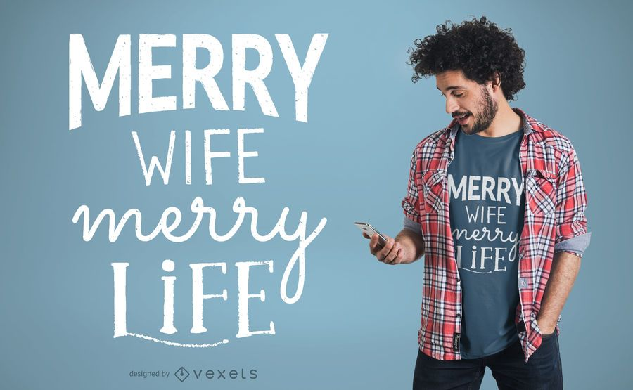 Family life t-shirt design