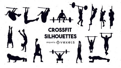 Conjunto de silhueta Crossfit