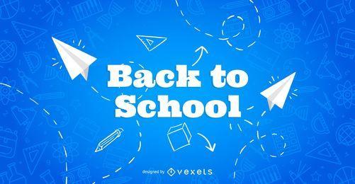 Folleto de regreso a la escuela