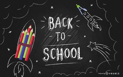 Back to School Tafel Flyer