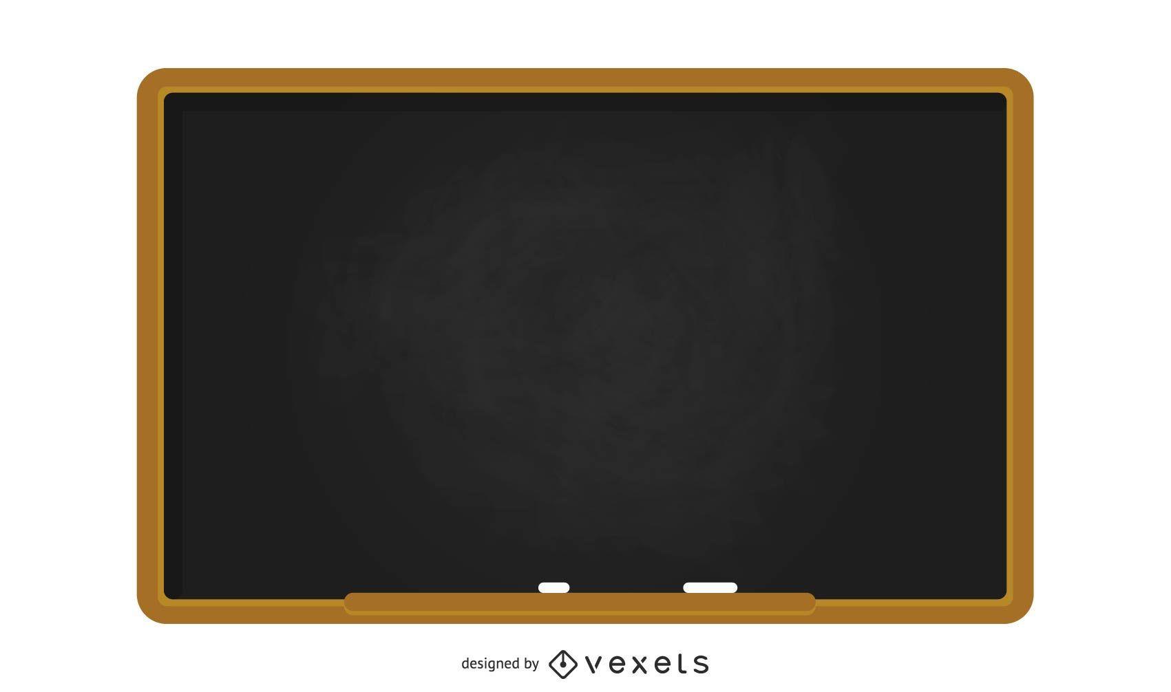 School blackboard illustration
