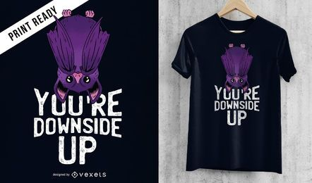 Bat quote t-shirt design