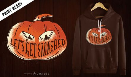 Get smashed t-shirt design