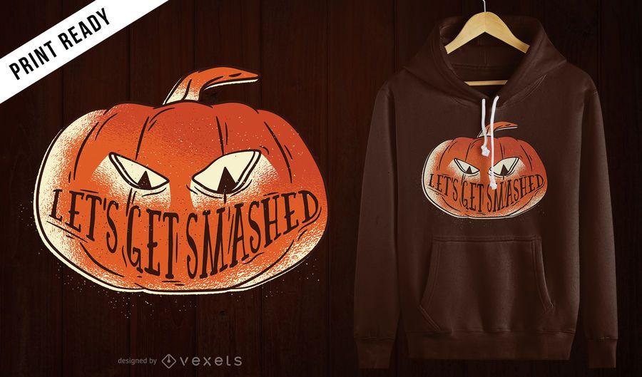 Get smashed t-shirt design