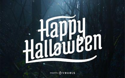 Diseño de letras de Halloween