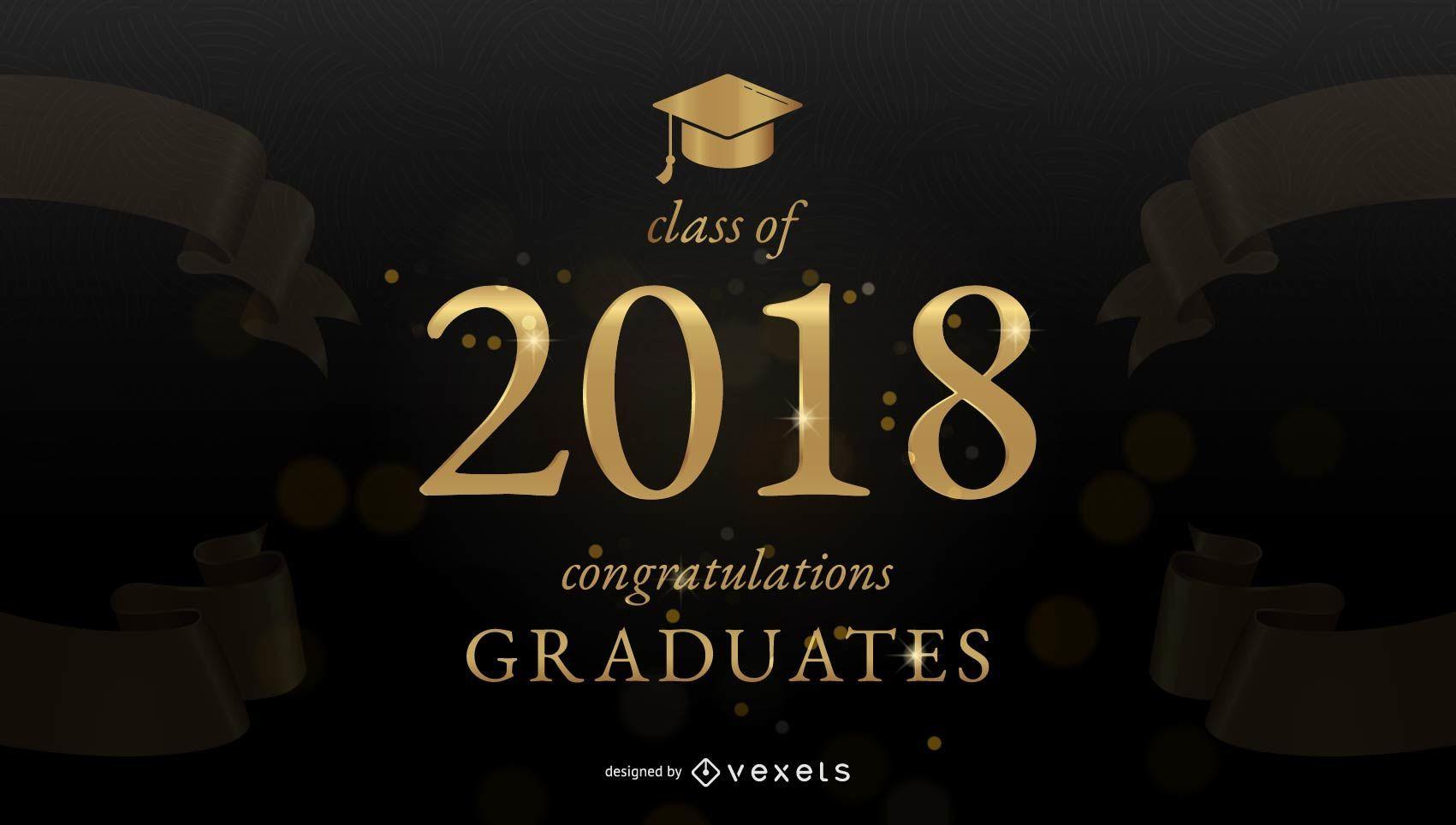 Banner de felicitaciones de graduaci?n
