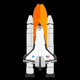 Icono del transbordador espacial americano