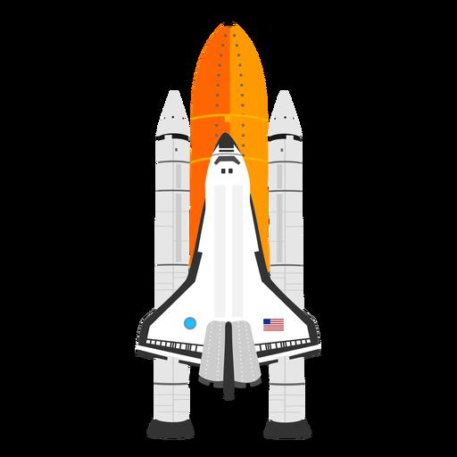 Ícone do ônibus espacial americano Transparent PNG