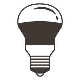 Arbitrary light bulb stroke icon