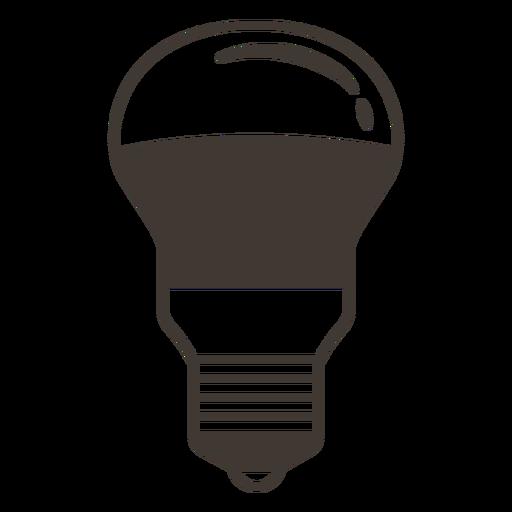 Beliebige Glühbirne-Strich-Symbol Transparent PNG