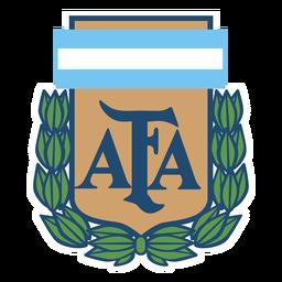 Logotipo da equipe de futebol da Argentina