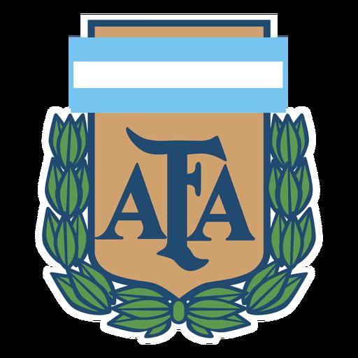 Logotipo da equipe de futebol da Argentina Transparent PNG