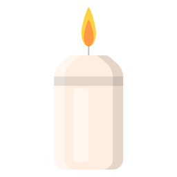 Icono de vela aromática