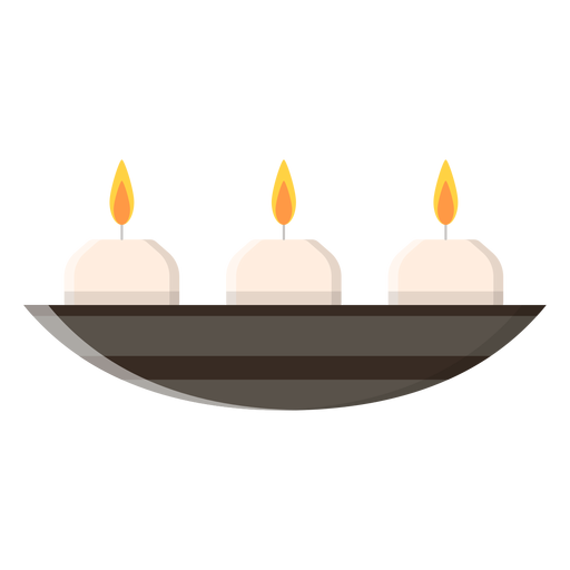 Aroma candles icon Transparent PNG
