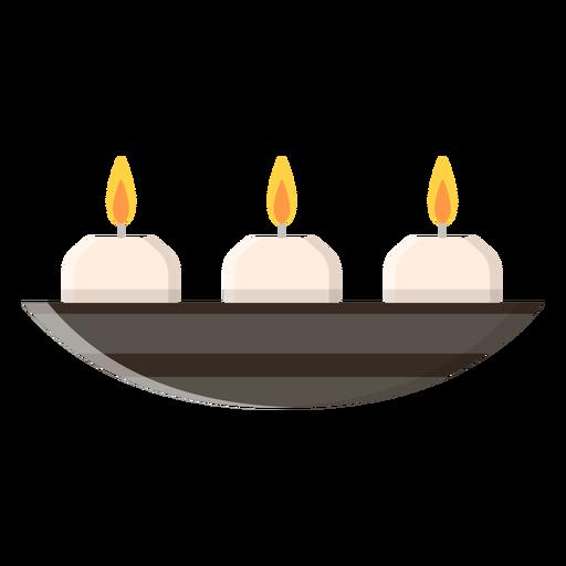 Icono de velas aromáticas Transparent PNG