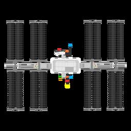 Icono de satélite artificial