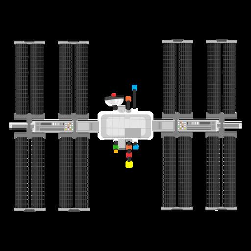 Artificial satellite icon Transparent PNG