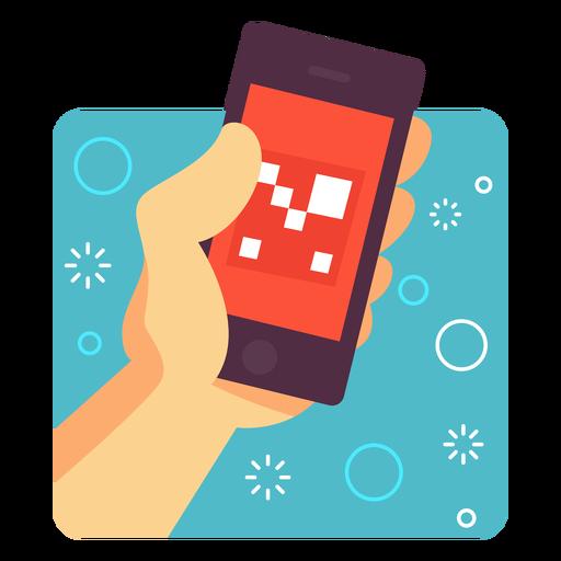 Ilustração de aplicativo de realidade aumentada Transparent PNG