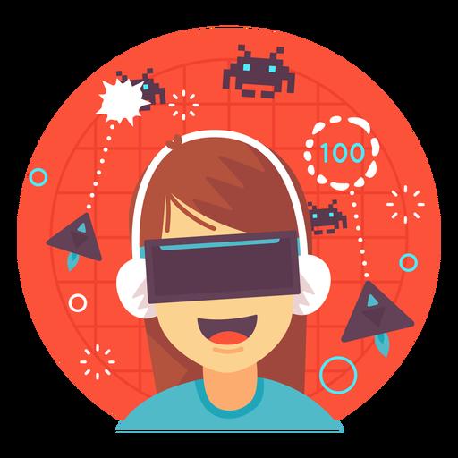 Ilustração de jogos de realidade aumentada Transparent PNG